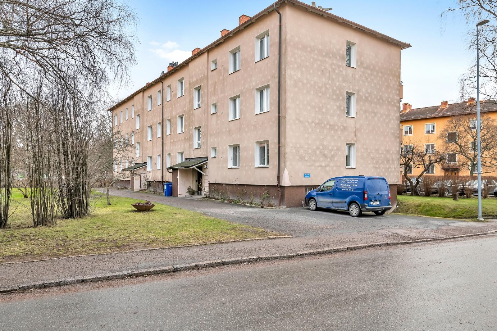 Vy från Banérgatan